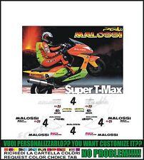 kit adesivi stickers compatibili tmax 2001 2007 replica malossi