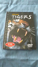 NEW SEALED SWAMP TIGERS DVD Natural Killers Predators Close Up with Book