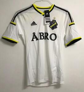 Men's adult AIK Stockholm away football shirt size XS Adidas BNWT 2014-2015