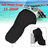 Full Outboard Boat Motor Engine Cover Dust Rain Protection For 15-20HP Motor