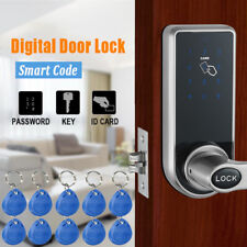 Electronic Smart Code Door Lock Keypad Card  Digital Keyless Security + 10 Tags