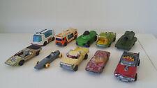 Matchbox Superfast, Lesney Series & Rolamatics  Diecast Vehicles -Lot Of 10
