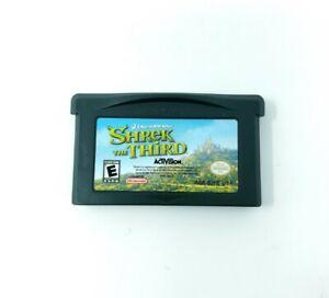 Shrek The Third (Nintendo Gameboy Boy Advance) GBA Authentic Tested
