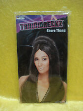 PMG Halloween Long Black Trainwreckz Shore Thang Jersey Shore Snooki Wig