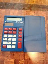 Texas Instruments TI-108 Pocket Calculator Basic Elementary