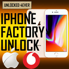 UNLOCK CODE SERVICE FOR Apple iPhone 8 7 Plus 7 6 6 Plus 5S SE 5 4S Vodafone UK