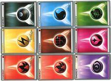Lot de 9 POKEMON ENERGIES Different Years ENERGY CHAMPIONCHIPS Mint (LCPE9 001)