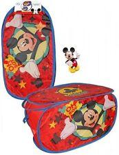 Disney Mickey Maus Pop Up Wäschekorb Spielzeugbox Aufbewahrungbox Auto Box