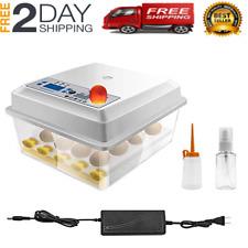 Incubadora de huevos automatica 16 huevos Máquina con Control de Temperatura