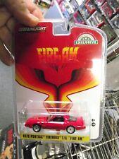 Greenlight 1/64 1979 Pontiac firebird T/A fire am red Nib