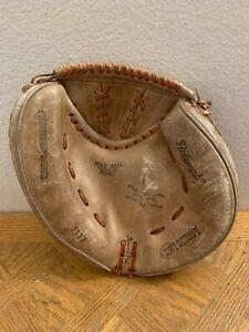 """National Vintage Baseball Glove 7117 Japan  Professional Model 10.5"""" LH"""