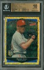 1/1 1999 Ultimate Victory Parallel Randy Wolf BGS 10 Pristine No Serial Number