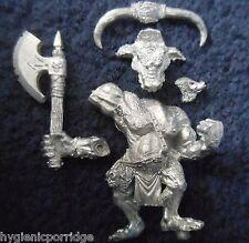 1998 Chaos Beastman Minotaur 2 Citadel Warhammer Army Hordes Beasts Beastmen GW