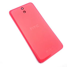 100% Genuine HTC Desire 610 rear battery cover+camera glass lens Orange back+NFC