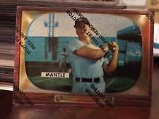 1996 Topps Finest Commemorative Refractor #5 Mickey Mantle Mint With Peel
