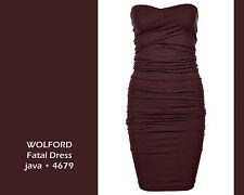 Wolford Fatal Dress •  L • java • ... rundum nahtloses Kleid in variabler Längen