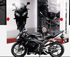 Maisto 1:12 YAMAHA R1 Black Assemble DIY Motorcycle Bike Model New In Box