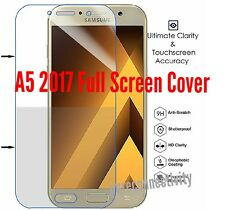 Samsung Galaxy A5 2017 Full Coverage Curved 5D Tempered Protector Strong Durable