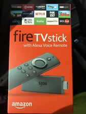 2 BRAND NEW AMAZON FIRE TV STICK 2ND GENERATION WITH ALEXA VOICE REMOTE