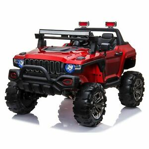 Hummer Style 12V Off Road Kids Ride On Car SUV 4X4 Electric Battery Powered