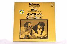 *w- LP-SCHUMANN Klavierkonzert OP. 54/WEBER Konzertstück OP. 79 - BRENDEL/Abbado