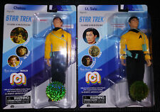 MEGO CHEKOV and Lt. SULU new 8 inch STAR TREK FIGURES MIP FREE SHIPPING