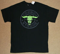 Buck Wear Cowboy Strong Skull Shirt Large NWT Licensed