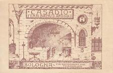C050) CARTONCINO, BOLOGNA, CASADIO FERRI BATTUTI ARTISTICI IN VIA AZZO GARDINO.