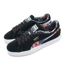 Puma Suede Secret Garden Black White Floral Men Women Unisex Shoes 369238-01