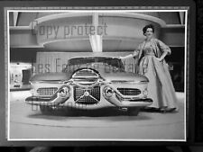 CAR LE SABRE HARLEY EARL  in 1951 document photo clipping