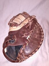 New listing Mizuno Franchise GXF 92 Leather Brown First Base Mitt Glove RHT