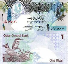 QATAR 1 Riyal Banknote World Paper Money UNC Currency Pick p28 New 2015 Birds