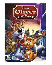 Oliver And Company DVD Disney New Sealed 1988