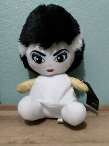 """Bride Of Frankenstein Plush Universal Studios Monsters  10"""" Toy Factory With Tag"""