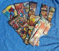 COLLECTIBLE MARVEL COMIC BOOK SUPERHERO EMBOSSED METAL SIGN LETTER B F L P R