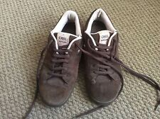 LADIES CHILL  RIPCURL BROWN SUEDE TRAINERS SIZE EU 39