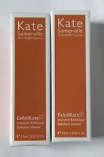 x2 Kate Somerville Exfolikate Intensive Exfoliator .25 fl oz each NEW SEALED