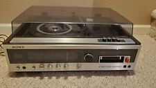 New listing Sony 1977 Hme-418 Stereo Music System Turntable 8 Track Radio Brand New Rare!