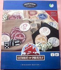 LEAGUE OF PIRATES Board Game, 2006, Front Porch Classics, NEAR MINT PLUS!