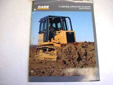 Case 550H & 650H Crawler Dozer Color Brochure