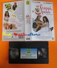 film VHS SE SCAPPI TI SPOSO Richard Gere Julia Roberts  1999 (F1**) no dvd