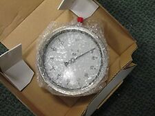 """Pression Instruments 6"""" Stainless Steel Gauge 6001-4Le 1/4"""" Npt Bottom"""