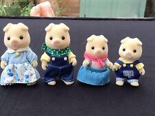 Sylvanian Families Bundle Grunt Pig Family