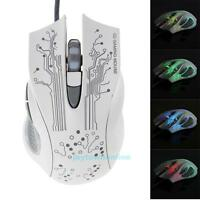 3200DPI LED Optical 6D USB Wired Gaming Game Mouse Gamer PC Computer Mice