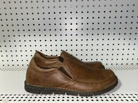 Born Mens Leather Casual Slip On Clogs Loafers Shoes Size US 9.5 EU 42.5 Brown