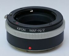Kipon Minolta Sony A to Nikon Z mount adapter