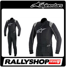 ALPINESTARS KMX 9 Kart  SUIT size 58 Black Grey Karting Sport Overall CIK