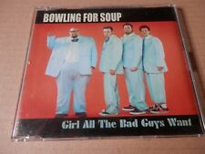 Bowling For Soup – Girl All The Bad Guys Want Promo CD Punk Rock NOFX Offspring