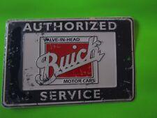 tin metal dealership home garage repair shop man cave decor buick sales service