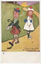 Hamish, Will Ye No Come Back Again, Tuck 1361 Scottish Comic Postcard B632